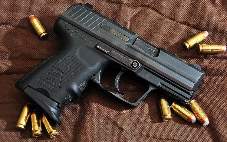 cal 40 handgun