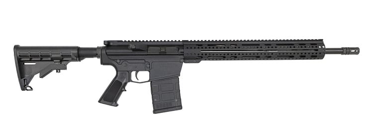 Alex Pro Firearms AR10 With 20RD Magazine Review