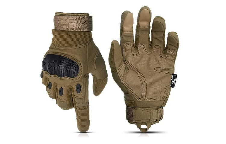 Glove Station Tactical Rubber Knuckle Gloves Review