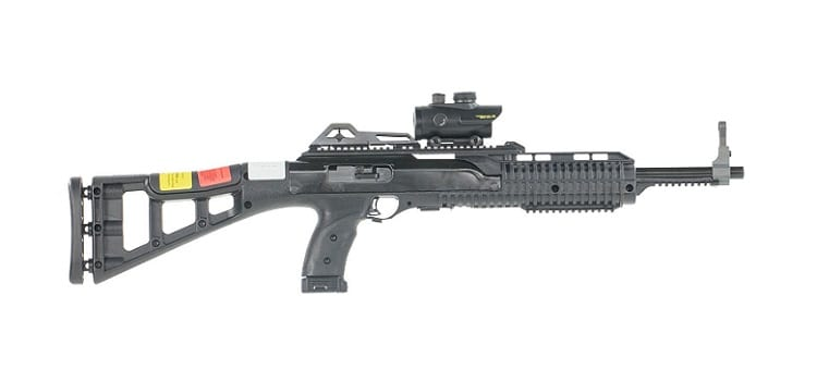 Hi-Point 995TS Carbine RD 9mm Luger Semi-Auto Rifle With Red Dot Scope, Skeletonized - 995RDTS  Review