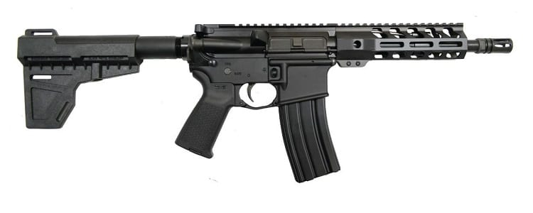 PSA 8.5'' Pistol-Length 300AAC Blackout 1/7 Nitride 7'' Lightweight M-Lok MOE Shockwave Review