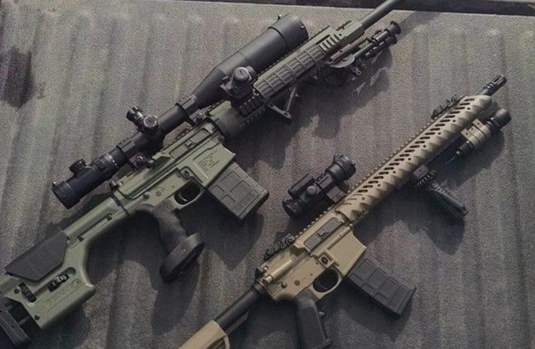 History AR10 and AR15