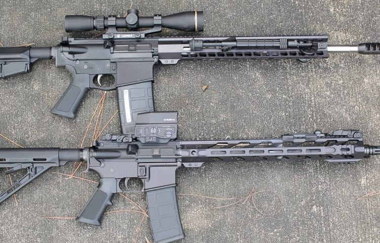 differences between AR10 and AR15