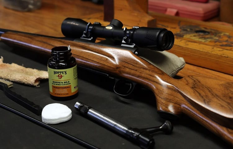 cleaning solvent for rifle