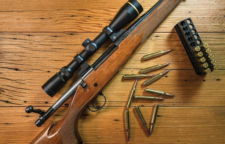what is the hunting rifle most common caliber