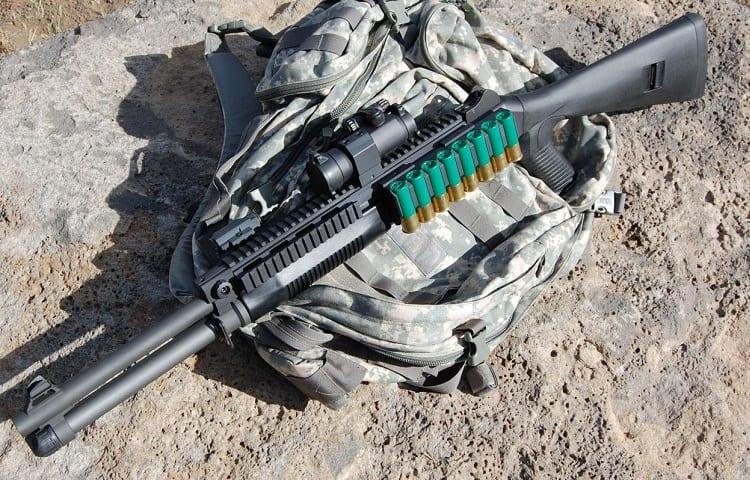 shotgun for military