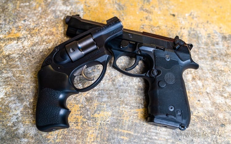 what is better pistol or revolver