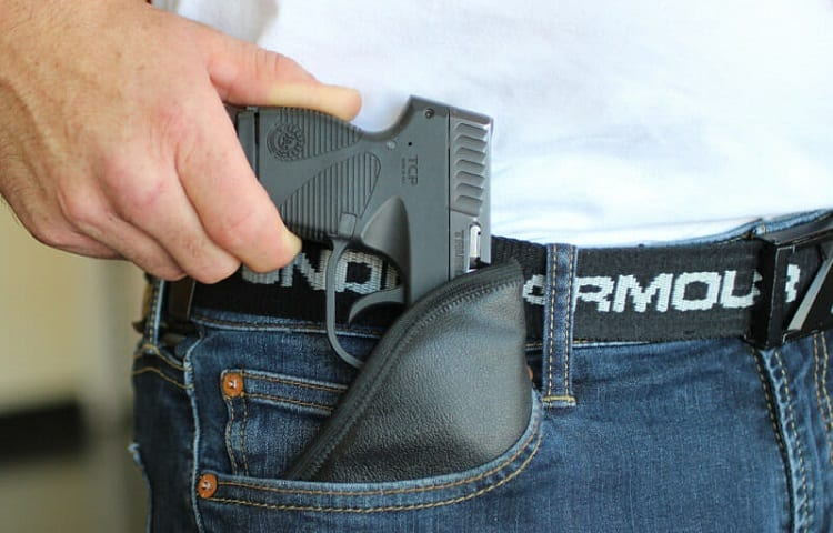 is pocket carry open carry