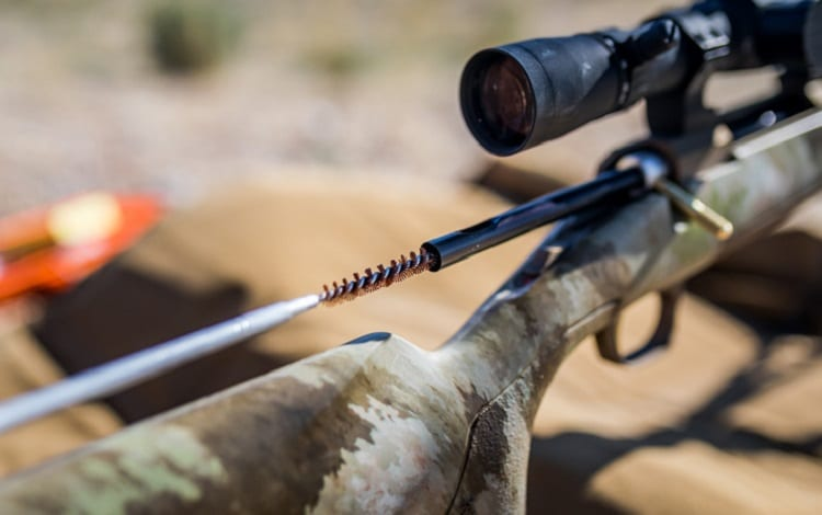 cleaning rifle tips