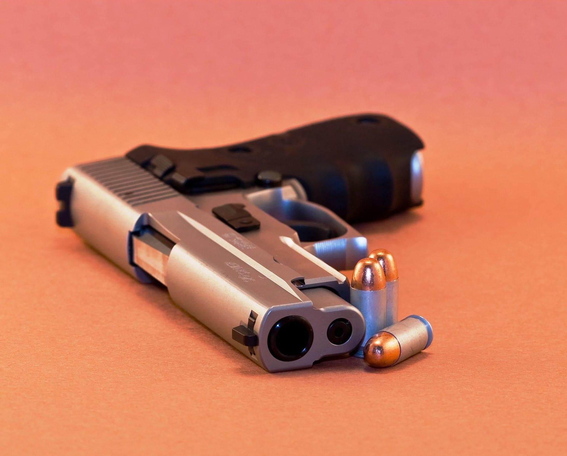 45 pistol size