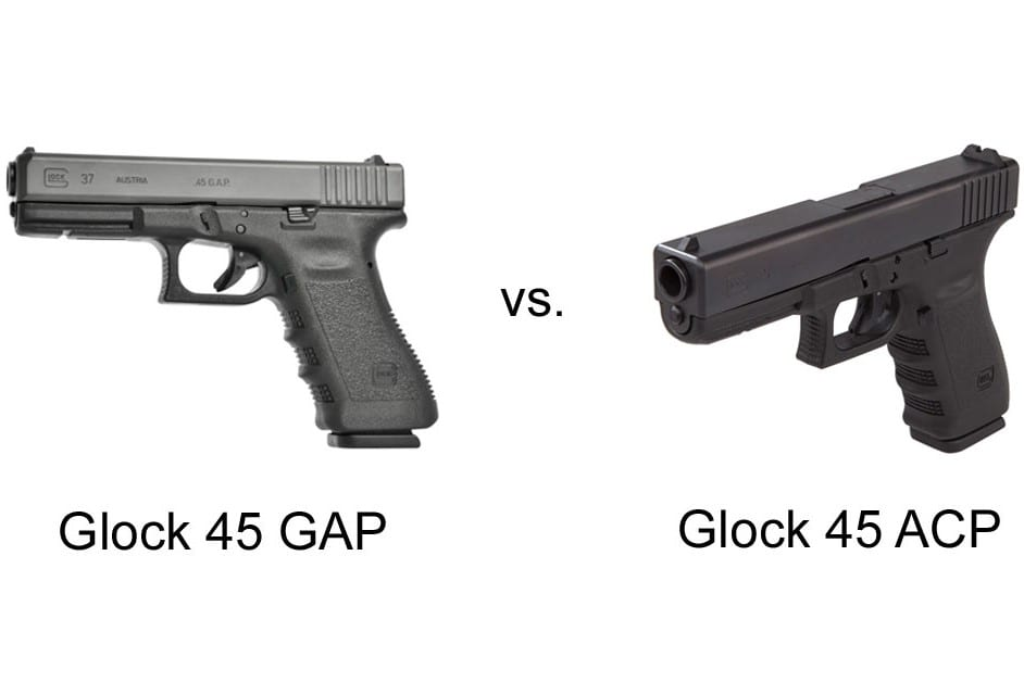 Glock 45 GAP vs 45 ACP: What Are The Differences 1