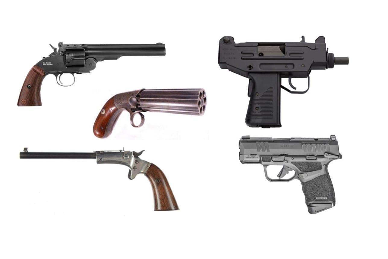 Types Of Handguns