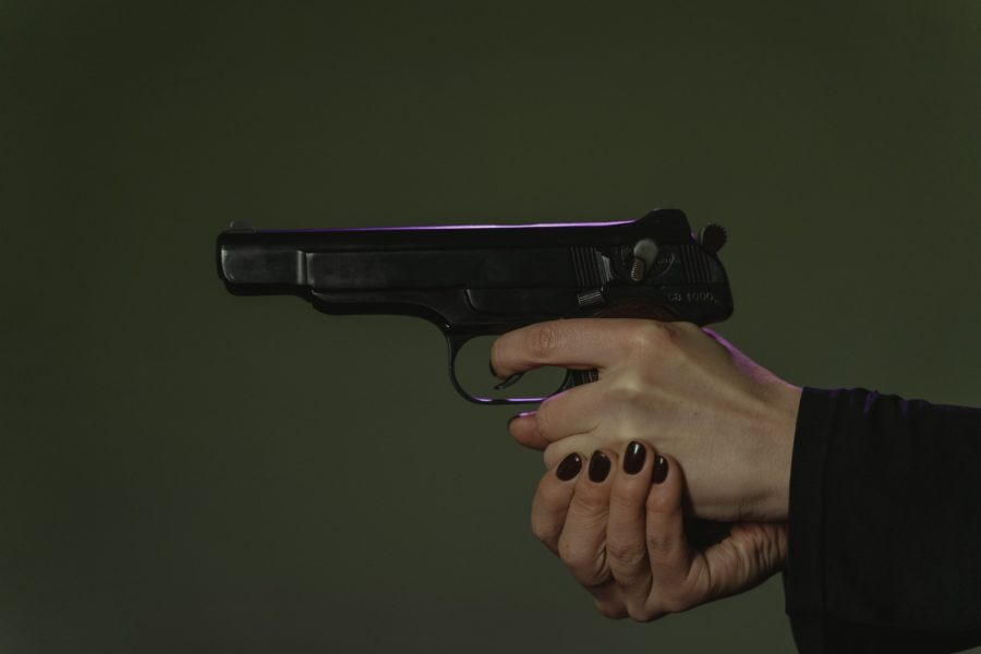 how to stop flinching when shooting a pistol